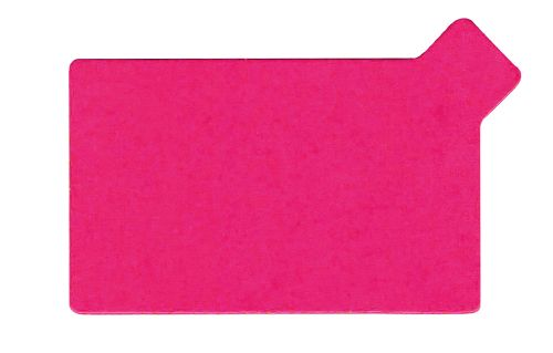 "2438/RE ""rectangle fuchsia/noir"""