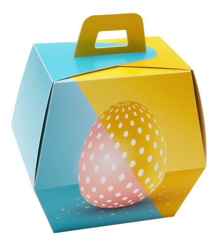 "Dessin ""pop egg"" forme conique"