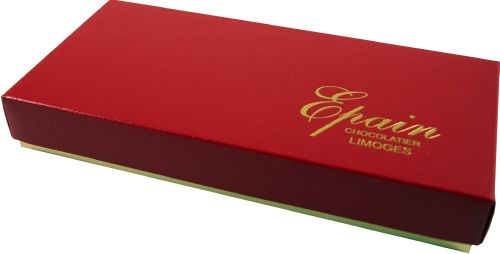 "327 ""cuir rouge"", boite rectangle 4338"